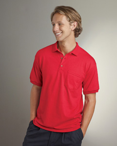 Gildan - G890, Men's 5.6 oz. DryBlend 50/50 Jersey Polo with Pocket, Embroidery, Screen Printing - Logo Masters International