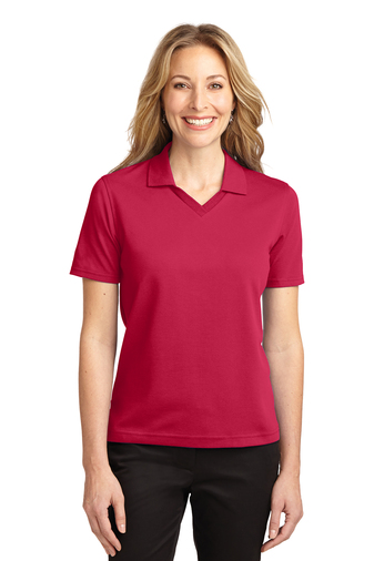 Port Authority - L455 Ladies Rapid Dry Polo Shirt, Pensacola, Embroidery, Screen Printing, Logo Masters International