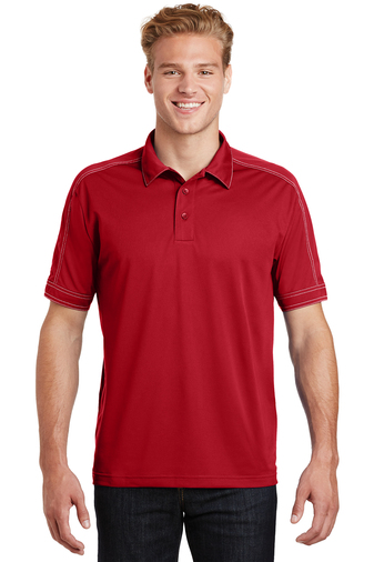 Sport-Tek - ST659, Mens Contrast Stitch Micropique Sport-Wick Sport Shirt - Logo Masters International