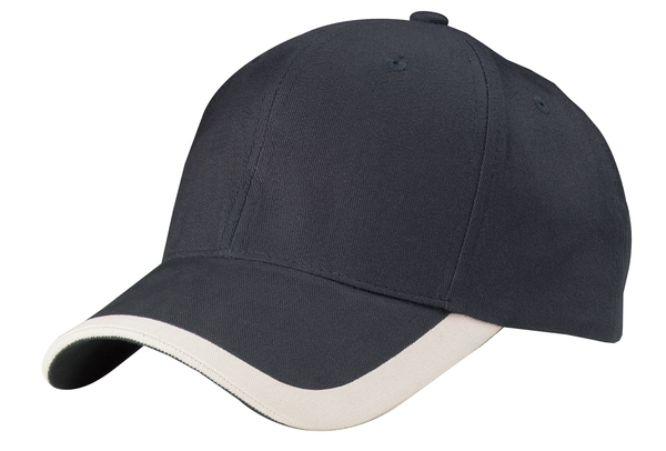 Port Authority - C867 Contrast Stripe Sandwich Bill Cap, Pensacola, Embroidery, Screen Printing, Logo Masters International