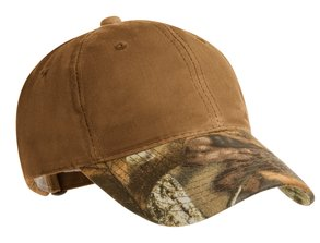 Port Authority - C877 Pro Camouflage Series Cotton Waxed Cap, Pensacola, Embroidery, Screen Printing, Logo Masters International