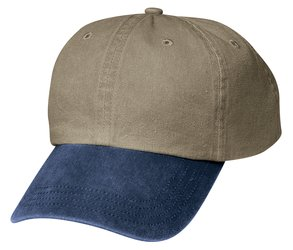 Port & Co. - CP83 Two-Tone Pigment-Dyed Cap, Pensacola, Embroidery, Screen Printing, Logo Masters International