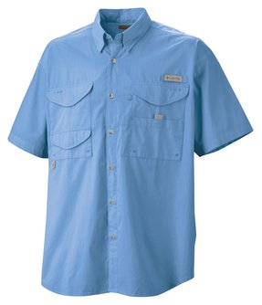 Columbia - 7130 Men's Short Sleeve Bonehead Fishing Shirt, Pensacola, Embroidery, Screen Printing, Logo Masters International
