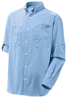 Columbia - 7253  Embroidered Long Sleeve Tamiami II Fishing Shirt