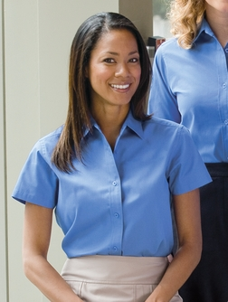 Port Authority - L508 , Women's Embroidered Short-sleeve Easy Care Shirt - Logo Masters International