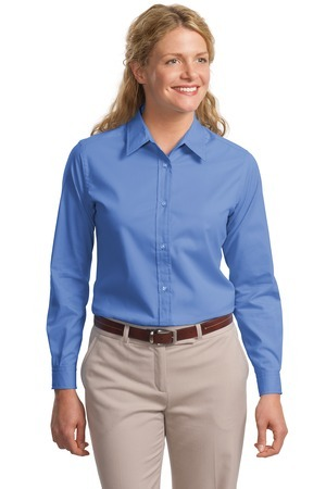 Port Authority - L608 Women's Embroidered Long-sleeve Easy Care Shirt