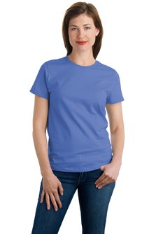 Port & Co. - LPC61 Ladies Screen Printed Heavyweight T-shirt