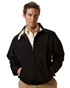 Harriton - M710  Men's Microfiber Club Jacket, Pensacola, Embroidery, Screen Printing, Logo Masters International