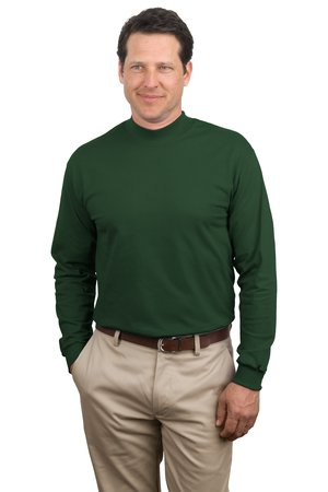 Port & Co. - PC61M Mens Mock Turtleneck, Pensacola, Embroidery, Screen Printing, Logo Masters International