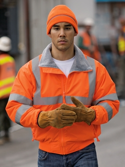 Port Authority - SRJ754  Safety Challenger Jacket with Reflective Taping.