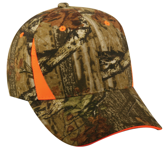 Outdoor Cap - CBI-305 Adult 6-Panel Mossy Oak & Reatree Blaze Cap, Pensacola, Embroidery, Screen Printing, Logo Masters International