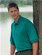 Tri-Mountain - 106, Men's Big & Tall Embroiderd 7oz. 60/40 Pique Polo Shirt - Logo Masters International